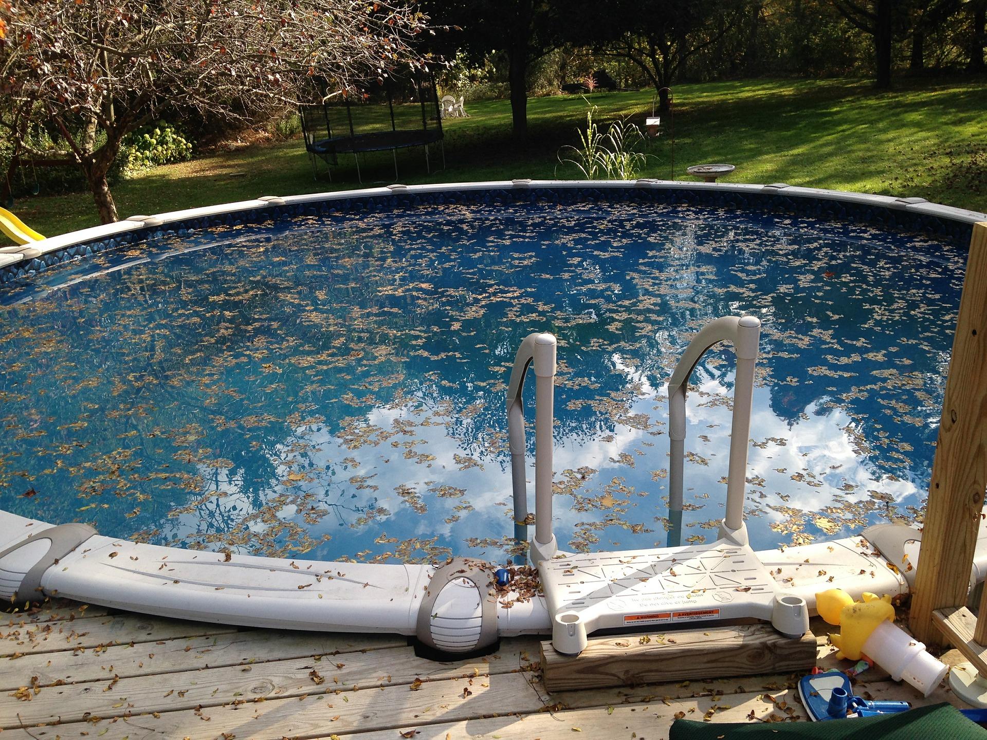 fermeture et ouverture de piscine